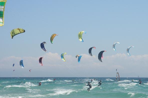 Kitesurfing i Tarifa